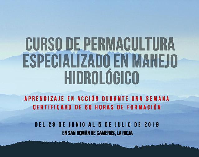 Curso de manejo hidrológico y Permacultura