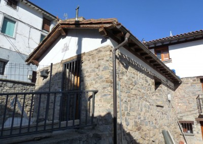 "Restauración de ""La Fragua"" en Terroba"